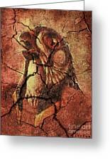 Horus - Wall Art Greeting Card by Dragica  Micki Fortuna