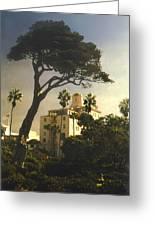 Hotel California- La Jolla Greeting Card by Steve Karol