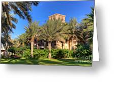 House At Madinat Jumeira Dubai Greeting Card by Fototrav Print