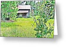 House In The Thicket Greeting Card by Eloise Schneider