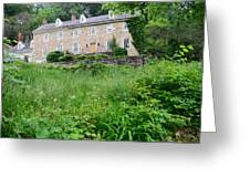House On A Hill Greeting Card by    Michael Glenn