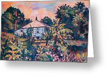 House On Route 11 Greeting Card by Kendall Kessler