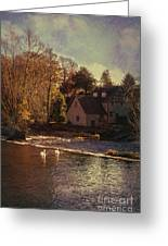 House On The River Greeting Card by Amanda And Christopher Elwell