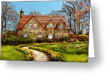 House - Westfield Nj - The Estates  Greeting Card by Mike Savad