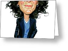 Howard Stern Greeting Card by Art