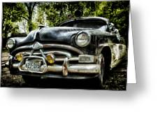 Hudson Cruiser Greeting Card by Todd and candice Dailey