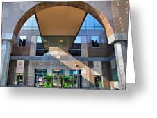Humana Building II Greeting Card by Steven Ainsworth