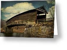 Humpback Bridge IIi Greeting Card by Kathy Jennings