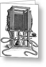 Humphery Gas Lamp, 1893 Greeting Card by Science Photo Library