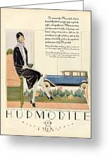 Hupmobile 1929 1920s Usa Cc Cars Womens Greeting Card by The Advertising Archives
