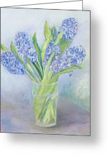 Hyacinths Greeting Card by Sophia Elliot