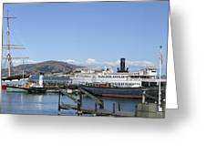 Hyde Street Pier - San Francisco Greeting Card by Daniel Hagerman