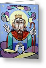 I Am The Way The Truth And The Light Greeting Card by Anthony Falbo