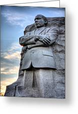 I Have A Dream Greeting Card by JC Findley