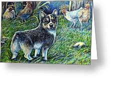I Heard You But.... Greeting Card by Gail Butler