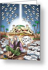 I Keep Hearing Music Greeting Card by Mark Armstrong