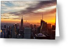 I Love New York Greeting Card by Maico Presente