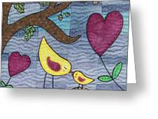 I Love You Greeting Card by Julie Bull