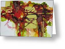 I Saved These Colors Just For You Greeting Card by Patricia Mayhew Hamm