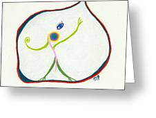 I Want Out Greeting Card by Sheila Byers