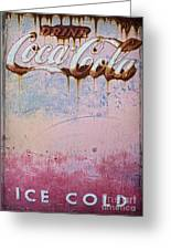 Ice Cold Greeting Card by Elena Nosyreva