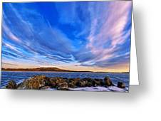Icebound 6 Greeting Card by Bill Caldwell -        ABeautifulSky Photography