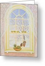 Icicles Greeting Card by Ditz