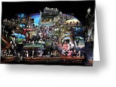 Icons Of History And Entertainment Greeting Card by Ylli Haruni