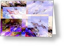 Icy Flames Greeting Card by Hakon Soreide