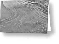 Icy Waves Greeting Card by Brian Mollenkopf