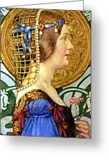 If One Could Have That Little Head Of Hers Greeting Card by Eleanor Fortescue Brickdale
