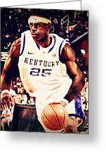 If They Had Played In College Greeting Card by Edward Pegues