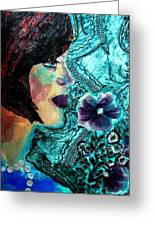 Ilana Greeting Card by Diane Fine