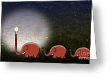 Illumination Greeting Card by Sassan Filsoof