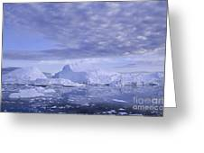 Ilulissat Icefjord Greenland Greeting Card by Rudi Prott