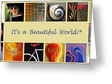 Image Mosaic - Promotional Collage Greeting Card by Ben and Raisa Gertsberg
