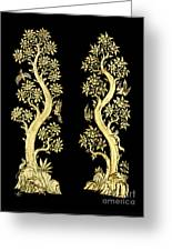 Images Artistic From Thai Painting And Literature For Background Greeting Card by Pakorn Kitpaiboolwat