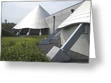 Imiloa Astronomy Center - Hilo Hawaii Greeting Card by Daniel Hagerman