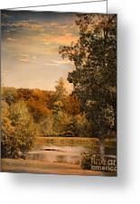Impending Autumn Greeting Card by Jai Johnson