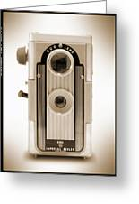 Imperial Reflex Camera Greeting Card by Mike McGlothlen