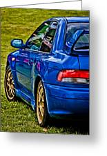 Impreza 22b Greeting Card by Phil 'motography' Clark