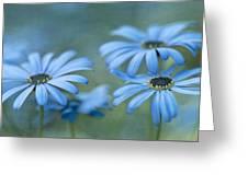 In A Corner Of A Garden Greeting Card by Priska Wettstein