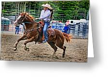 In It To Win It Greeting Card by Gary Keesler