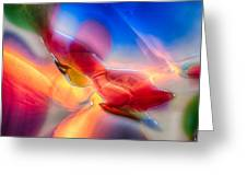 In Loving Color Greeting Card by Omaste Witkowski