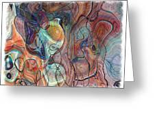 In My Minds Eye Greeting Card by Susan Leggett