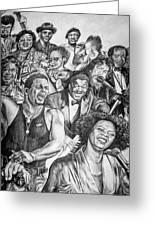 In Praise Of Jazz Greeting Card by Steve Harrington