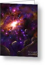 In The Beginning... Greeting Card by Tamer and Cindy Elsharouni