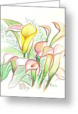 In The Golden Afternoon Greeting Card by Kip DeVore