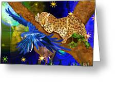 In The Jungle Greeting Card by Sydne Archambault