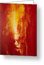 Incendie Greeting Card by Todd Karleskein